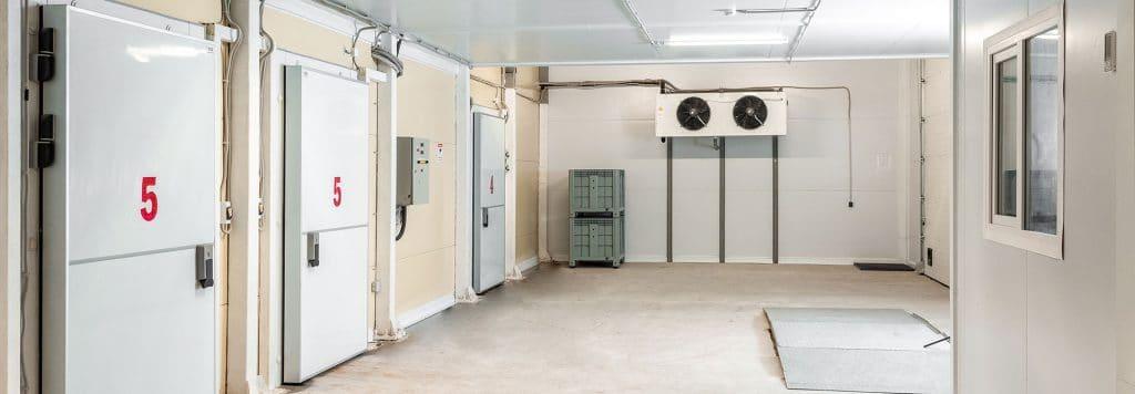 Commercial Freezer Room